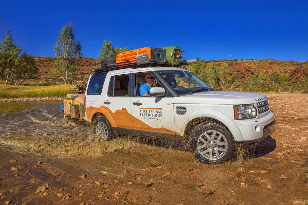 Comfortable 4WD expedition travel