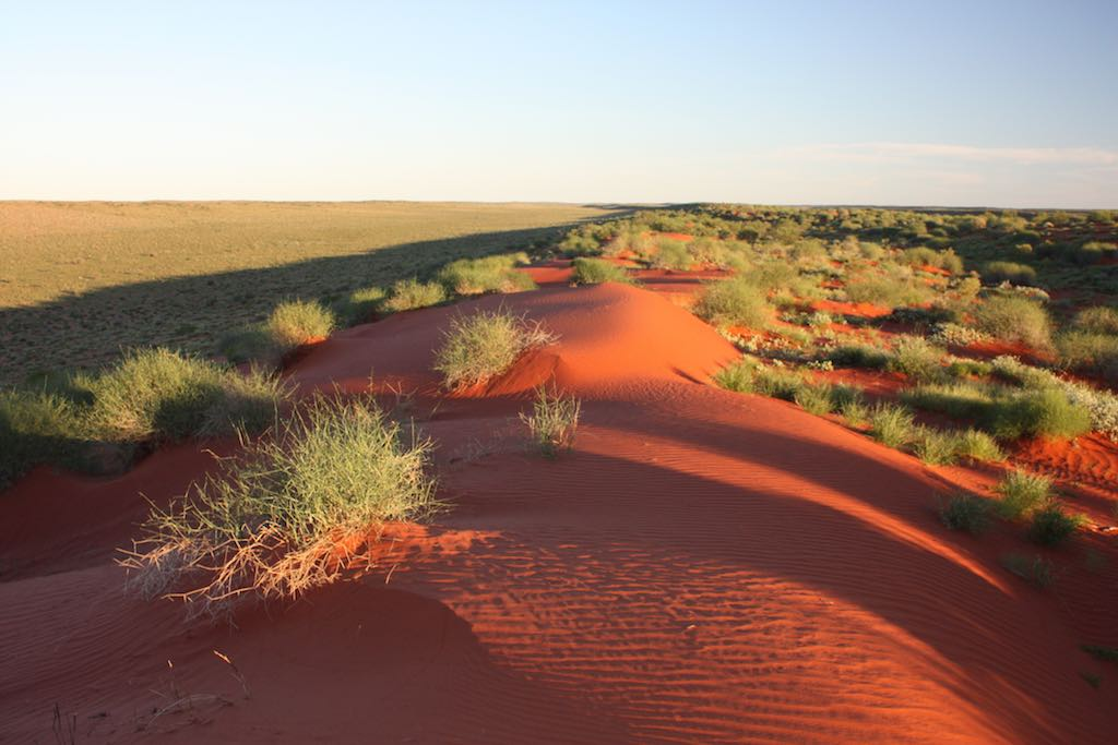 Central Australia's rich ochre colours and unique geology